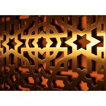 Celosías Decorativas De Madera 18mm. Tipo Mandalas