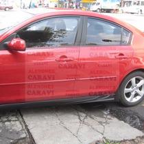 Mazda 3 Tuning Par De Estribos Laterales Con Toma De Aire