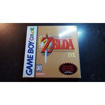 Caja Zelda Links Awakening Dx Gameboy Color