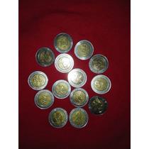 Monedas Conmemorativas 5 Pesos Bicentenario Revolucion