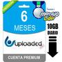 Cuentas Premium Uploaded 180 Dias - Oficial 100% Original