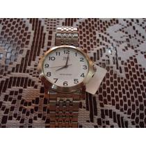Reloj De Pulsera Qq Original Acero Inoxidable P/caballero