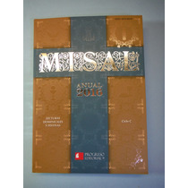 Misal 2016 Lecturas Dominicales Editorial Progreso