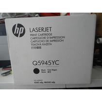 Toner Negro Hp Laser Jet 45a Para Hp 4345