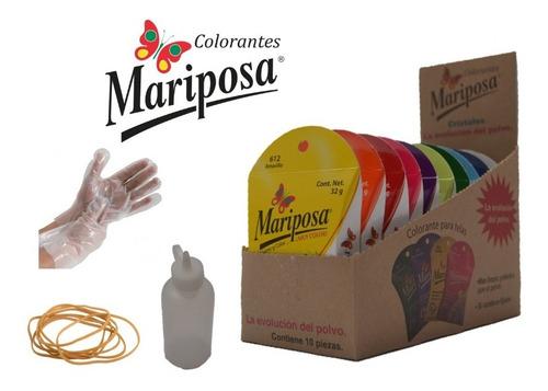 Kit De Teñido Mariposa Efecto Tie Dye