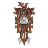 Decoraciones Colgante Madera Pájaro Reloj Pared Cuco A Casa