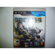 Socom 4 U.s. Navy Seals Ps3 Excelente Estado
