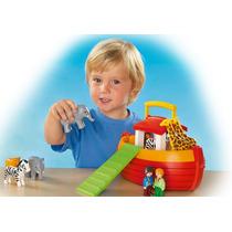 Playmobil 6765 Arca De Noe 123 Bebes Reyes Magos Retromex