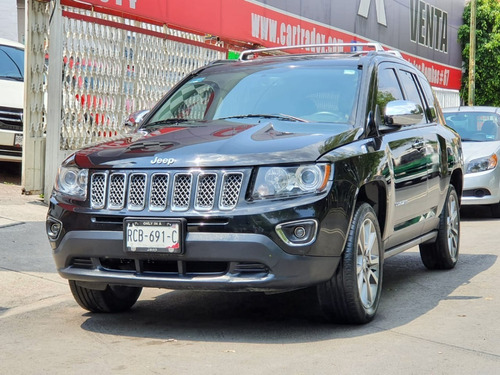 Jeep Compass Limted 2016 Factura De Agencia Gps Impecable!!