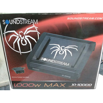 Amplificador Soundstream X1.1000 Clase D Nuevo
