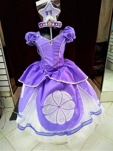 a28beb58d Vestido Para Fiesta Niña Disfraz De Princesa Sofia+envió en venta en ...