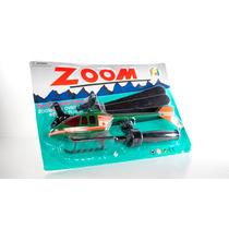 Excelente Divertido Juguete Lanza Helicoptero Zoom A Buen $$