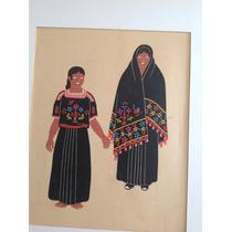 Carlos Mérida. Serigrafía. Mexican Costumes. 8