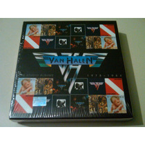 Van Halen The Studio Albums 1978 - 1984 Boxset 6 Cds Nuevo