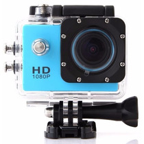 Camara Deportiva Sumergible Full Hd 12mp Pantalla Lcd Webcam