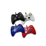 Gamepad Control Usb Alambrico Compatible Xbox 360 Pc Negro