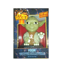 Despachador Chicles Dulces Star Wars Darth Vader Yoda Sonido