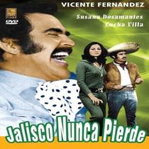 Dvd Mexicano Jalisco Nunca Pierde Vicente Fernandez Tampico