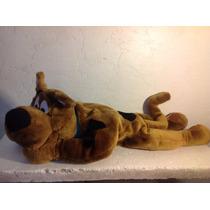 Peluche Almohada Scooby Doo Voz Perro Mascota Niño Pila Kzr