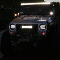 Nuevos Faros Projector Cree Led Para Jeep Wrangleer 81-2016