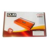 Amplificador Fuente Dub By Audiobahn 2400w 4ch Para Woofer