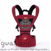 Portador Para Bebe Backpack & Kangaroo Vedar Rojo