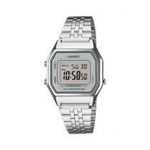 Reloj Casio Dama La680 Plata Extensible Metal Crono Tempori