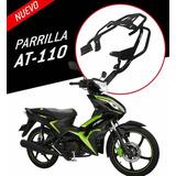 Parrilla Trasera Para Motocicleta Italika At 110 Y Xt 110 Rt Kov