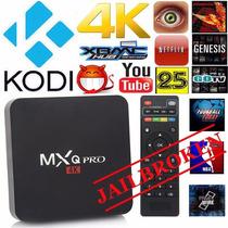 Mxq Android Tv Box Caja Kodi Con Tv Mxq Pro Plus® 1080p Wifi