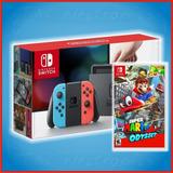 Nintendo Switch Neon + Juego A Escoger   Promocion $9699!