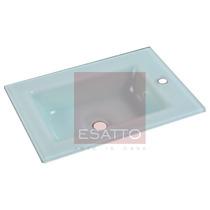 Esatto ® Lavabo Ovalin Cubierta Vidrio Importado Ov-001 Vv4