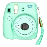 Cámara Análoga Instantánea Fujifilm Instax Mini 9 Mint Green