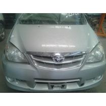 Toyota Avanza 2011 Chocad Partes Piezas Refacciones Yonke Fr