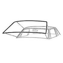 Mustang 65-68 Empaque Sello Hule Parabrisas