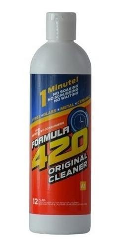Limpiador De Pipas Y Bongs 12 Oz Formula 420 Original