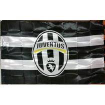 Bandera Fc Juventus 150por90cm Coleccion Football Italiano