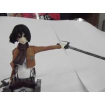 Figura De Coleccion De Mikasa Ackerman Ataque De Titanes