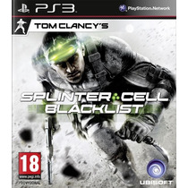 Splinter Cell Black List +ghosts Recon Future Solider+regalo