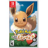 Pokemon Let's Go - Pikachu O Eevee - Nintendo Switch