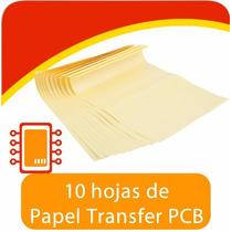 10 Hojas Papel Transferencia Transfer Térmica Pcb Circuitos