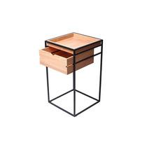 Cajonera De Acero Y Madera Mueble Diseño Moderno Mueble Mesa