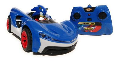 Sonic Carro De Juguete A Control Remoto Radio Control Turbo