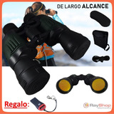 Binoculares De Largo Alcance Brújula Funda Zoom 20x50 Wy750