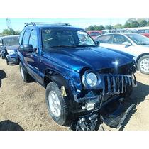 Jeep Liberty 02 Motor 3.7 Desarmo Todo Autopartes Transmis