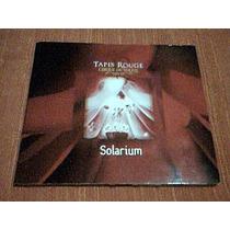 Cd Cirque Du Soleil - Tapis Rouge - Solarium - Cd Importado