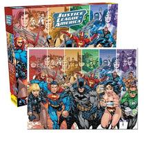 Rompecabezas De Carton Dc Comics: La Liga De La Justicia