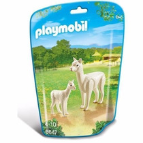 Playmobil 6647 Alpaca Y Cria Animal Zoologico Retromex