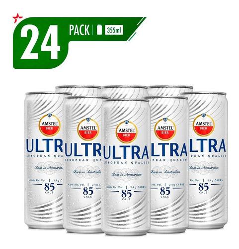 Cerveza Amstel Ultra 4x6 Lat 355ml