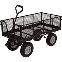 Carro Remolque De Carga Plegable Strongway Jardinería 1400lb