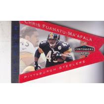 1998 Contenders Red Felt Rookie Chris Fuamatu Ma